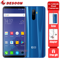 Elephone U Pro Snapdragon 660 Smartphone 5.99'' Wireless Charging Android 8.0 6GB RAM 128GB ROM 13MP 4G LTE mobile Phone NFC