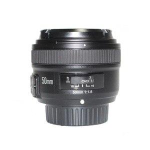 Image 4 - YONGNUO 50mm Lens YN50MM F1.8 Large Aperture Auto Focus Lens for Nikon D5300 D3400 D3200 D3100 D7200 D800 D300 D700 DSLR Camera