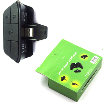 For Xbox One Stereo Headset Adapter Controller Audio Adapters Headphone Converter For Microsoft Xbox One Wireless Gamepad