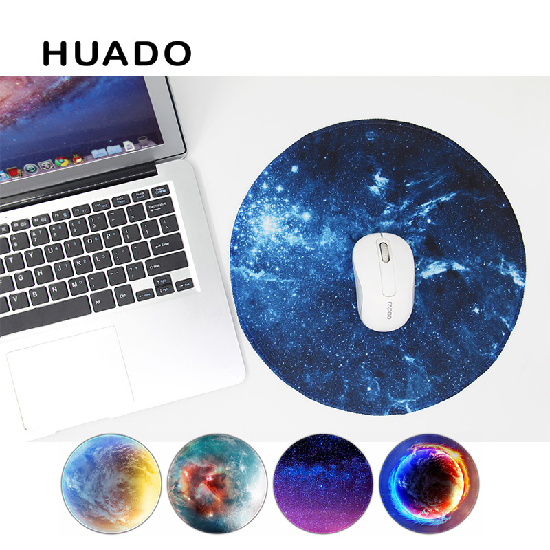 Starry sky Round mouse pad gaming mouse mat non slip mousepad desktop mat for steelseries/ office work/ warface/overwatch/cs go