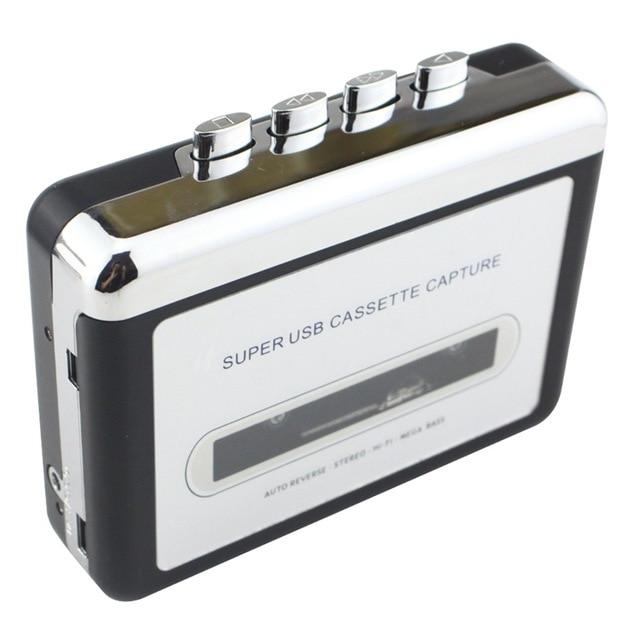 Usb Kassette Konverter Kassette Zu Mp3 Audio Erfassen Musik Player Band Zu Pc Tragbare Cassette-to-mp3 Converter Player Unterhaltungselektronik