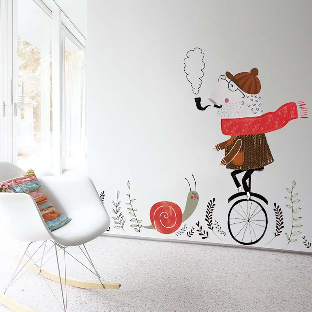 Study Room Decoration Diy: Travel Wall Sticker Home Decor DIY Removable For Living