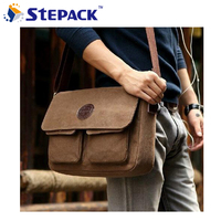 Hot Sale 2014 New Korean Retro Vintage Men Messenger Bags Casual Male Students School Satchel Shoulder