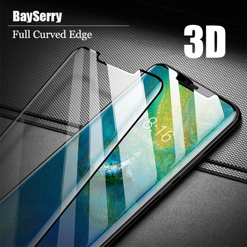 Pro Huawei Mate 20 Pro tvrzené sklo 3D zakřivené plné pokrytí Ultra-tenký chránič obrazovky pro Huawei Mate 9 Pro ochranný film