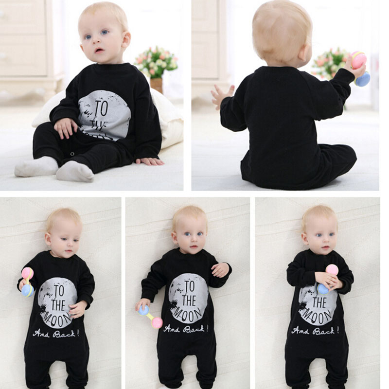 Newborn Baby Boy Clothes Casual Handsome Baby Boy Costume Fashion ...