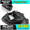 JGRT Car Styling Newest 9 LED Car Styling DRL For Mitsubishi ASX 2013 2014 Daytime Running