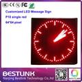 P10 один красный открытый из светодиодов вывеска 64 * 64 пикселей индивидуальные из светодиодов сообщение войти работает текст такси верхний знак экран p10 из светодиодов дисплей