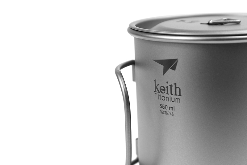 Keith Titânio Copo De Água De Titânio