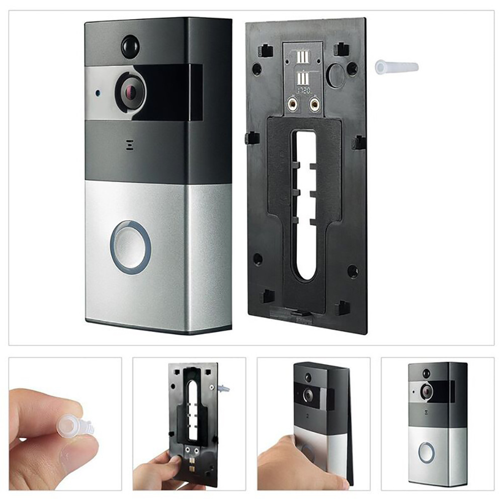 New WIFI Wireless Video Intercom Low Power Intelligent Electronic Doorbell