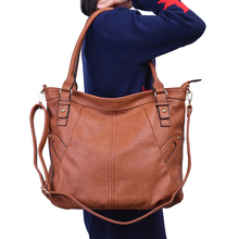 NEW bag artificial leather women handbag large totes female wide shoulder strap messenger bag ladies crossbody top-handle bags цена в Москве и Питере