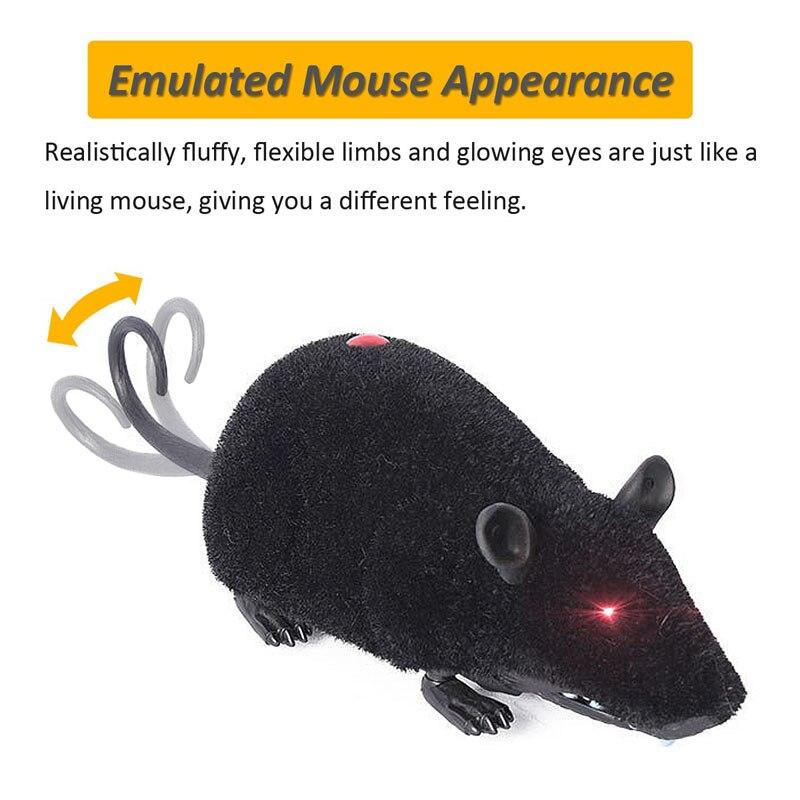 Смешные Pet Cat мыши моделирования игрушка удаленного Управление Мышь электронный меха Мышь игрушка для кошки Запуск игры FJ88