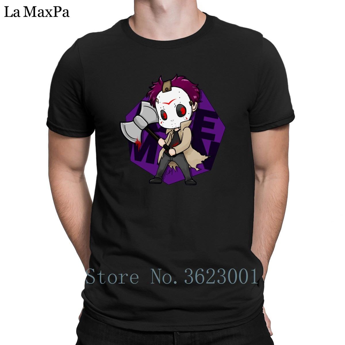 Character Humorous T Shirt Man Axeman Avatar Men T-Shirt Trend Summer Tee Shirt Cotton Simple Mens Tshirt Cheap Funny Casual