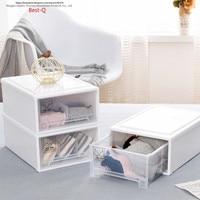 Free shipping Drawer underwear storage box, loaded underwear socks storage box, chest box wardrobe finishing box, plastic.