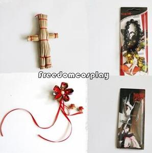 Hell Girl Ai Enma Jigoku Shoujo Cosplay scarecrow bracelet headwear necklace