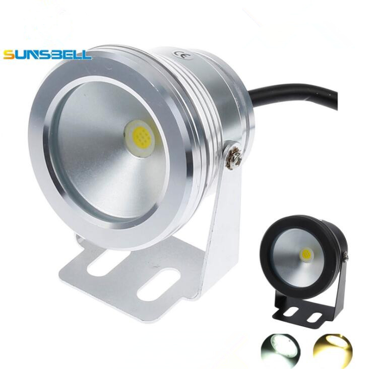 Wholesale Price 10W COB Led Underwater Fountain Light Flash Waterproof  Light Under Water Led Pond Lights