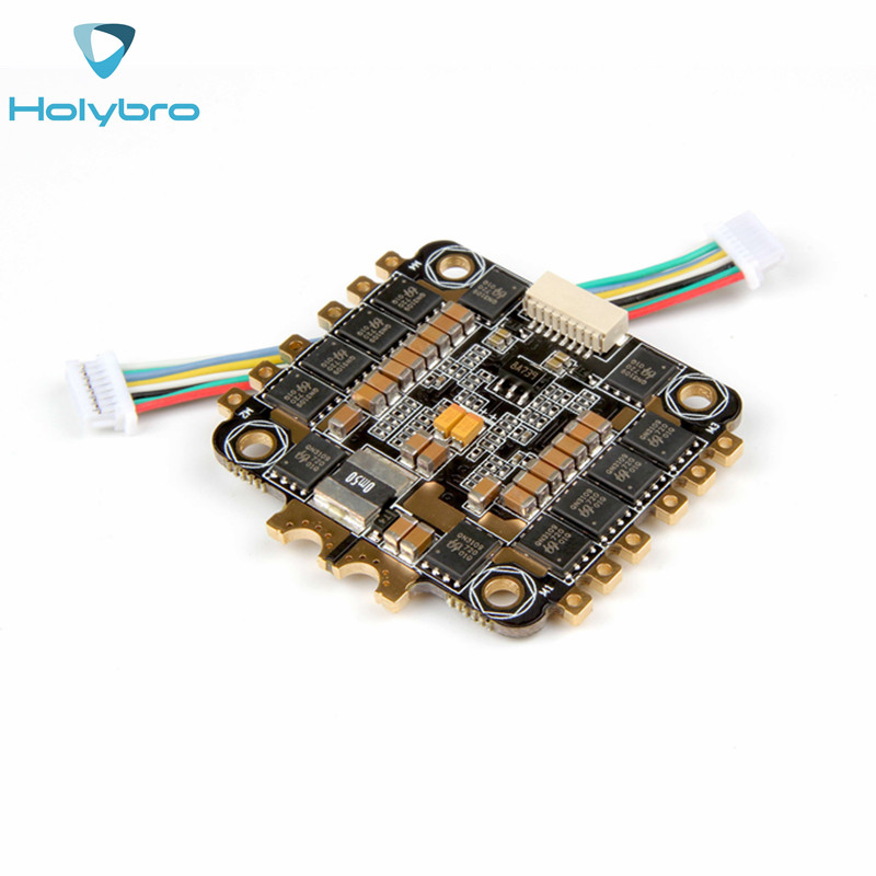 Holybro TekkoS 4 in 1 30A BLHeli_S ESC 3-6S Built-in Current Sensor For RC Drone FPV Racing Multirotor Toys DIY Accessories emax f4 magnum tower parts bullet 30a 4 in 1 blheli s esc 2 4s built in current sensor for rc multicopter models motor frame