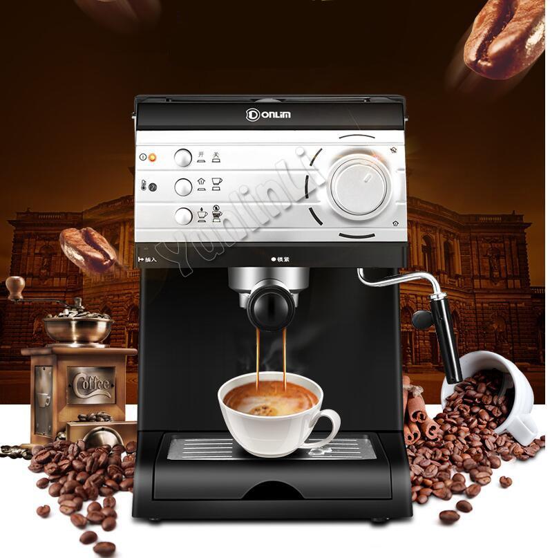 Semi-automatic Pump Pressure Coffee Maker Household Steaming Italian coffee  machine pump pressure coffee maker DL-KF6001 05d01669544