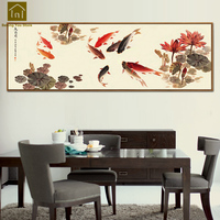 China Wall Hanging Painting Living Room Decoration Large Canvas Wall Art Vertical Painting Toile Peinture Home Decor QKM042