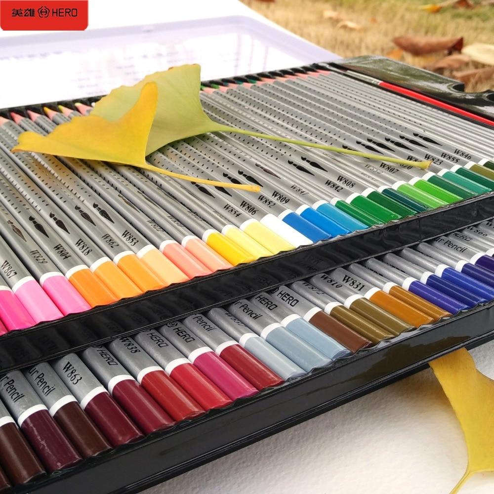 72 färgade pennor akvarell lapices de colores Profesionales 36/48/60/72 färgade pennor för konst skolmaterial Skrivmaterial
