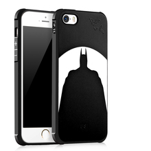 Люксовый Бренд телефон case Для Apple iPhone SE 5S 5 силиконовый Защитный Batman cat медведь Череп шаблон задняя крышка случаи shell