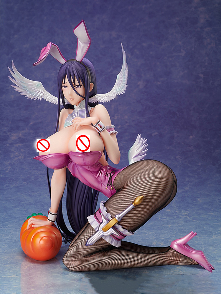 BINDing Native <font><b>Sexy</b></font> Girl Figure Pure white Magical girl RAITA Misa Suzuhara Bunny Ver. PVC Action Figure Anime Figure Model Toys image