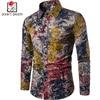 New Brand Clothing 2017 Fashion Shirt Male Flax Dress Shirts Slim Fit Turn Down Men Long