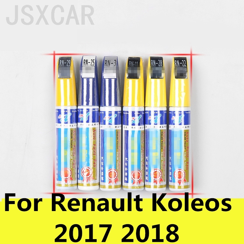 US $5 7 26% OFF|car Paint Care Colors Auto Car Coat Paint Pen Touch Up  Scratch Clear Repair Remover Remove Tool For Renault Koleos 2017 2018-in