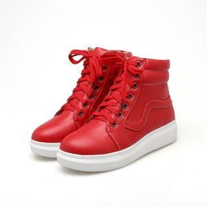 Image 1 - Zapatos My Hero Academia Izuku Midoriya para Cosplay, zapatos casuales de lona vulcanizados para mujer, zapatos altos con cordones, calzado de verano