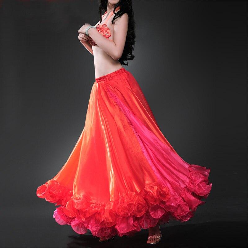 Noviteti i pos. namene ... Plesna odeća ... 32783973345 ... 5 ... 2018 2018 Professional Belly Dance Costume Waves Skirt Dress with S Push Carnival Bollywood ...