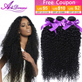 Peruvian Curly Virgin Hair 3bundles Black Unprocessed Human Deep Curl Hair Weave AliDoremi Hair Peruvian Virgin Hair Deep Wave