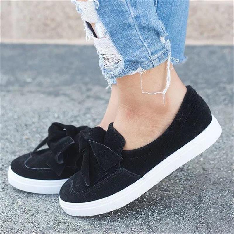 5286da18602 Plus size 35 4 Moccasins Loafers Women Flats Shoes Soft Slip On Ladies Footwear  Female Summer Casual Shoes Women Flats DC247-in Women s Flats from Shoes on  ...