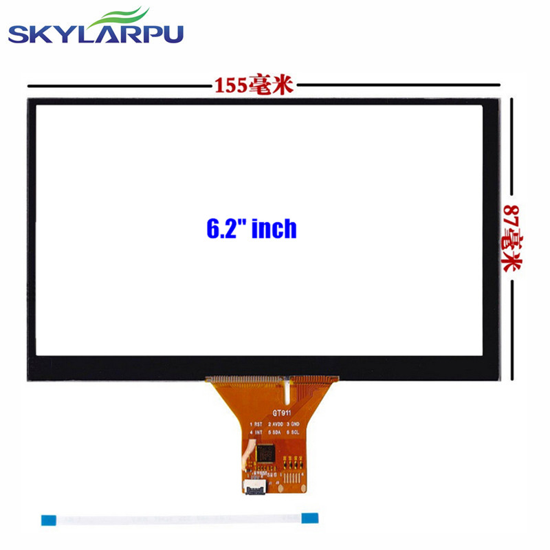 skylarpu fleet sales 6.2 6.95 7 8 9inch Capacitive Touch GPS car navigation Touch screen panel Glass (Support android)