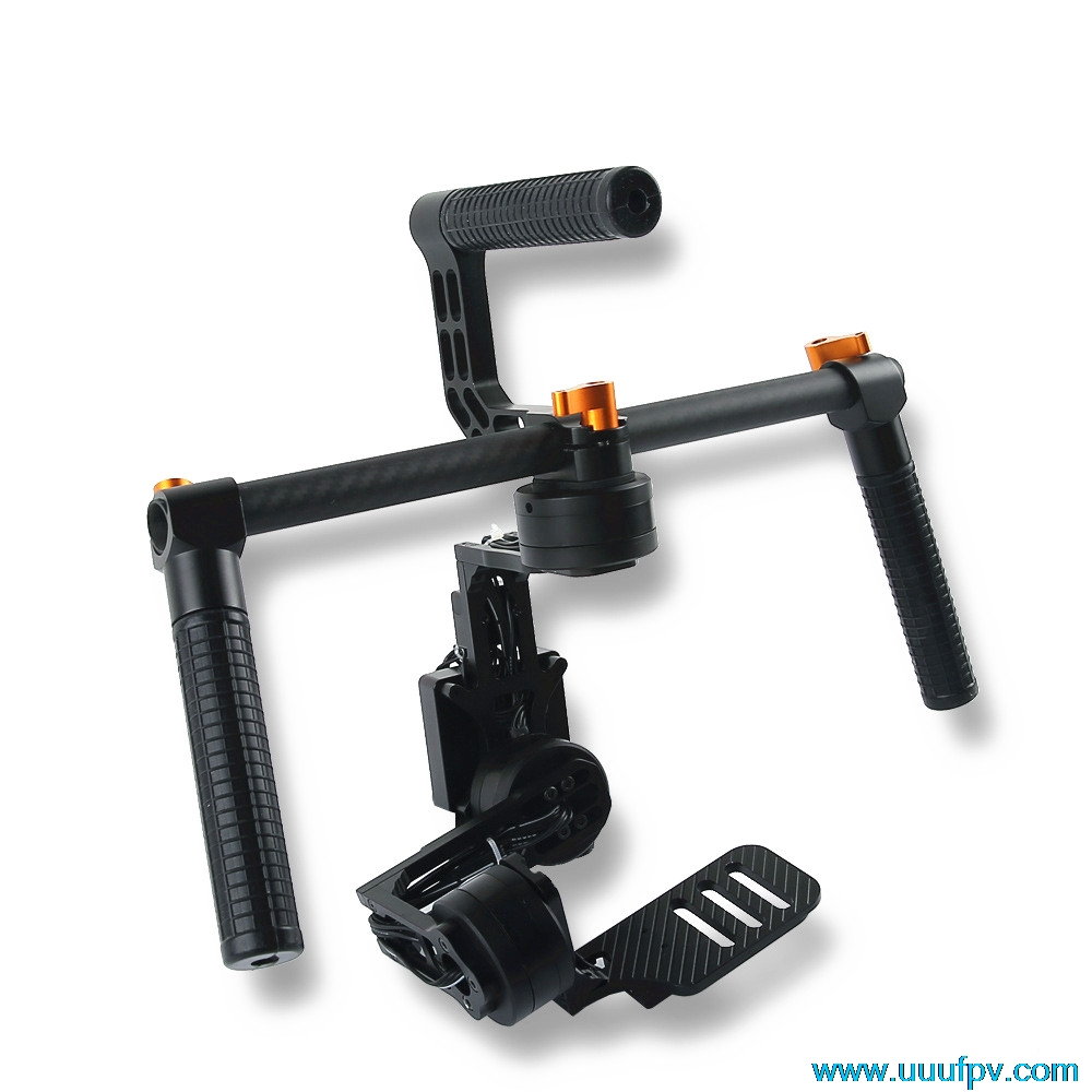 IFLIGHT G40 Lite 3-Axis Handheld Gimbal DSLR Camera Stabilizer for Sony NEX5/7,RX-100,BMPCC and other micro SLR camera