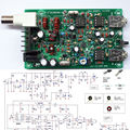 PIC Versión 8 W Súper RM RockMite QRP CW Transceptor JAMÓN de Radio de Onda Corta kits