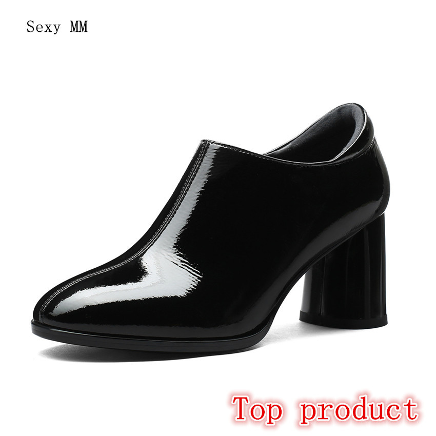Genuine Leather High Heels Women Pumps Office High Heel Shoes Stiletto Woman Party Shoes Kitten Heel Plus Size 34 - 40 41 42Genuine Leather High Heels Women Pumps Office High Heel Shoes Stiletto Woman Party Shoes Kitten Heel Plus Size 34 - 40 41 42