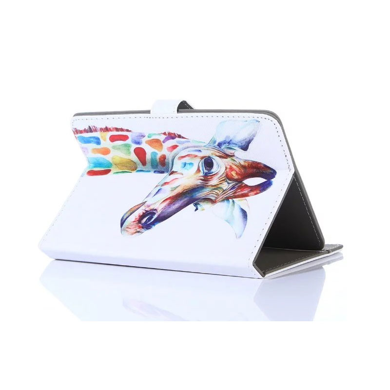 Myslc Universal Cover for DEXP Ursus 9X 3G 9.7 inch Tablet Printed PU Leather Stand Case