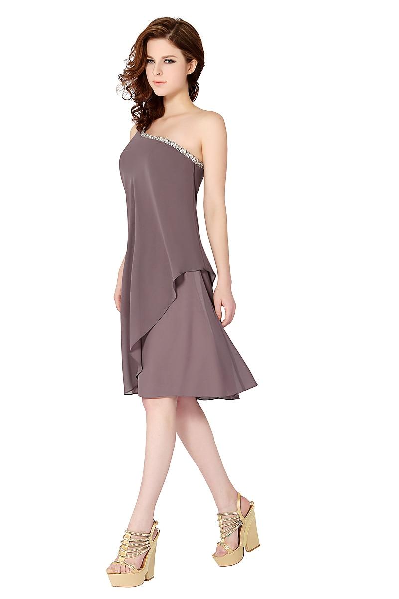 be31f3f4d40c Light Grey Beaded Bridesmaid Dress - raveitsafe