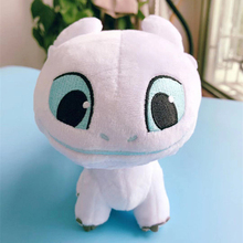 18cm Dragon 3 Plush Toy Light Fury Soft White Stuffed Animals Doll