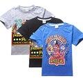 Niños de Dibujos Animados juego de Cinco Noches en Freddy algodón de manga corta Camisetas top de las muchachas de 6-14 Y venta al por menor