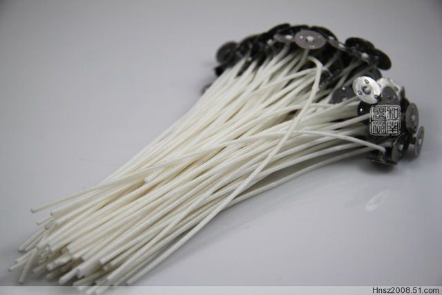 19cm candle wicks Pretabbed CORE Candle Making supplies, 7.48 inch long, pre waxed, oil wicks, ready to use