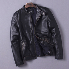 Free Shipping 11 11 sales EMS Top Brand genuine leather jacket plus size sportswear jackets mens