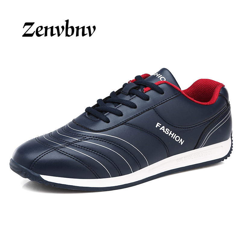 ZENVBNV 2017 New Arrival Popular Style Men Casual Shoes Lace Up Men Flats Microfiber Men Shoes Comfortable Light Soft 39~44 size new 2017 arrival men casual flats soft leather sneakers shoes low help lace up breathable comfortable shoes plus size eu 39 44
