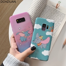 DCHZIUAN Phone Case For Samsung Galaxy S10 S10 Plus Case Dumbo For Samsung Galaxy Note 9 Note 8 S8 S9 Plus Cute Silicone Cover