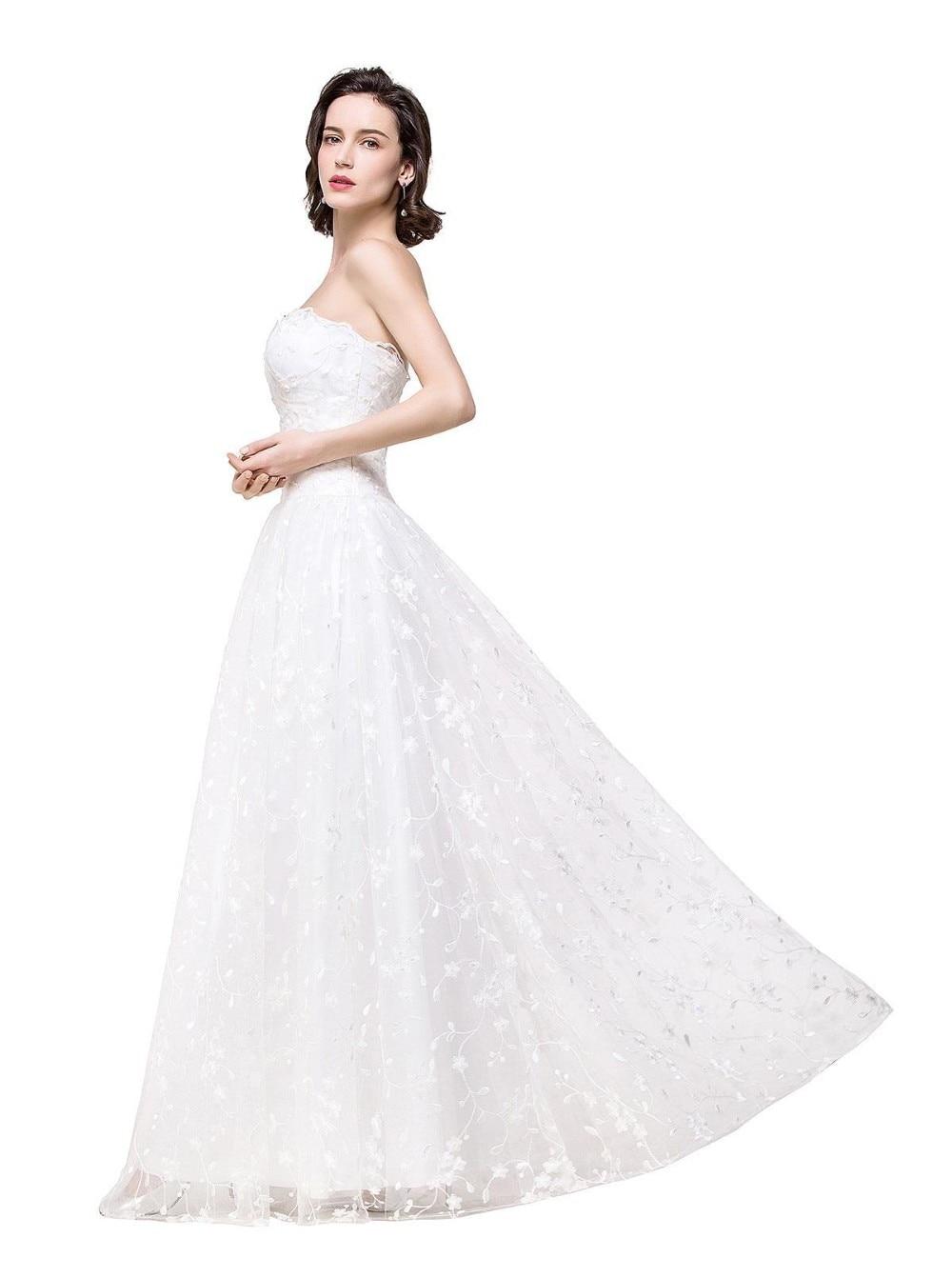 Fantastisch Einfache Tüll Brautkleid Galerie - Brautkleider Ideen ...