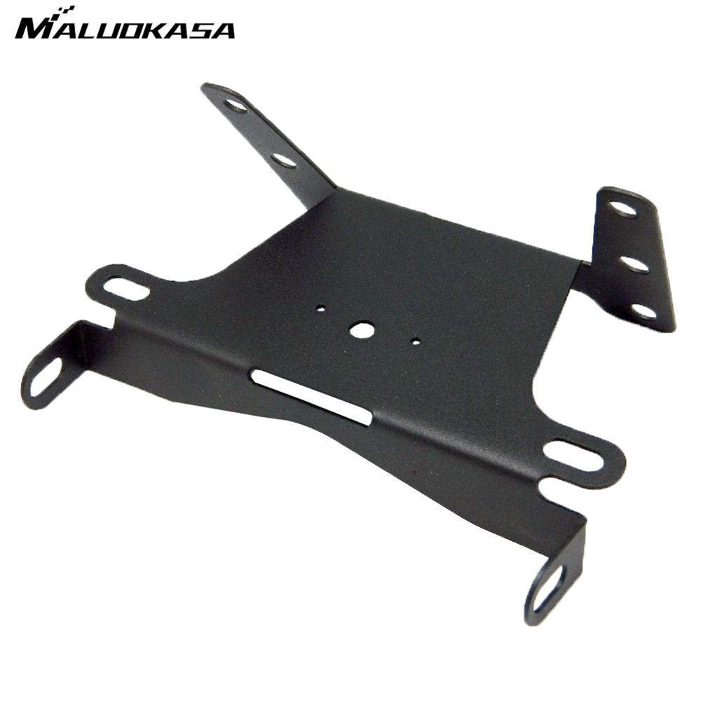 MALUOKASA Motorcycle Fender Eliminator Tidy Tail License Plate Bracket For 2004 2005 2006 Kawasaki Ninja ZX10R Motor Tail Light aftermarket free shipping motorcycle parts eliminator tidy tail for 2006 2007 2008 fz6 fazer 2007 2008b lack