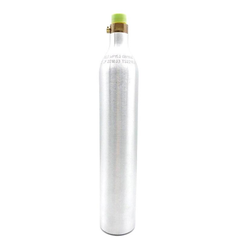 0.6L Soda Stream Bottle Silver Color