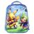 Nueva Historieta de 13 Pulgadas Azul Mochila Mochilas escolares Para Poco Lindo Pikachu Pokemon Niños Bolsa de La Escuela Infantil Mochila Para Bebé