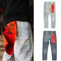 30-36 high street стиль этап панк модные мужские дизайнер одежды бренда одежды жан rockstar 424 ИНДИГО джинсы homme