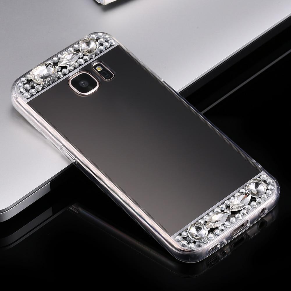 FLOVEME Mirror Cover Case för Samsung Galaxy S6 S7 Edge S8 Plus A5 - Reservdelar och tillbehör för mobiltelefoner - Foto 5