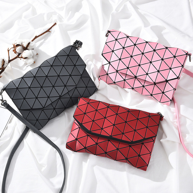 Women Sling Bag Female Shoulder Bags Girls Flap Geometric Luxury Handbags Women Bags Designer Messenger Bags 4